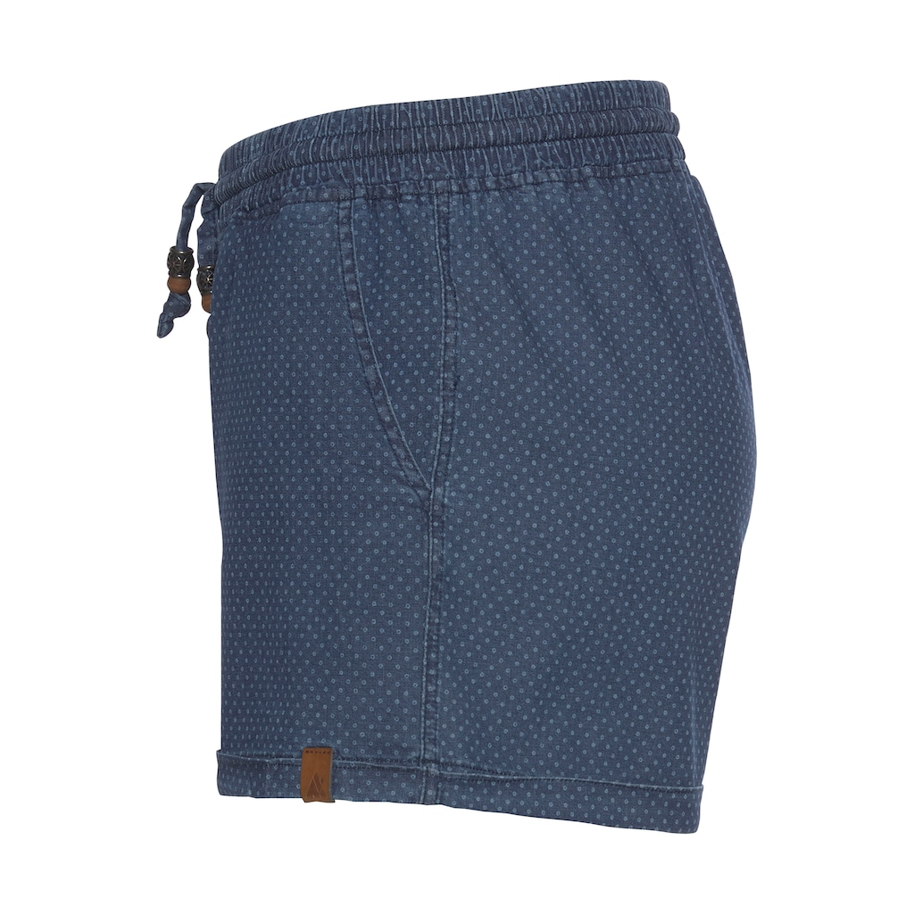Alife & Kickin Jeansshorts »JaneAK«, kurze Hose mit Zierperlen