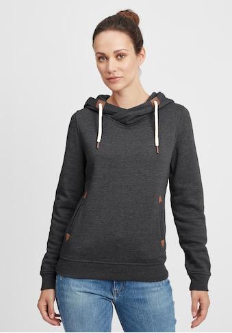 OXMO Hoodie »Vicky Hood«, Kapuzenpullover mit Cross-Over Kragen kaufen