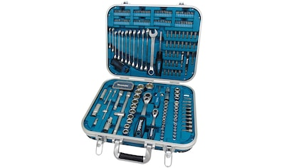 MAKITA Werkzeugset »P - 90532«, 227 - tlg. im Alu - /Kunststoffkoffer kaufen