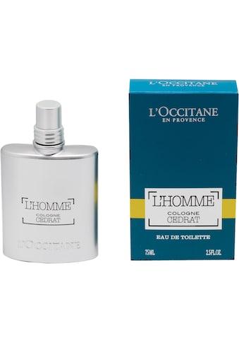 """L'OCCITANE Eau de Toilette """"L'Homme Cologne Cedrat"""" kaufen"""