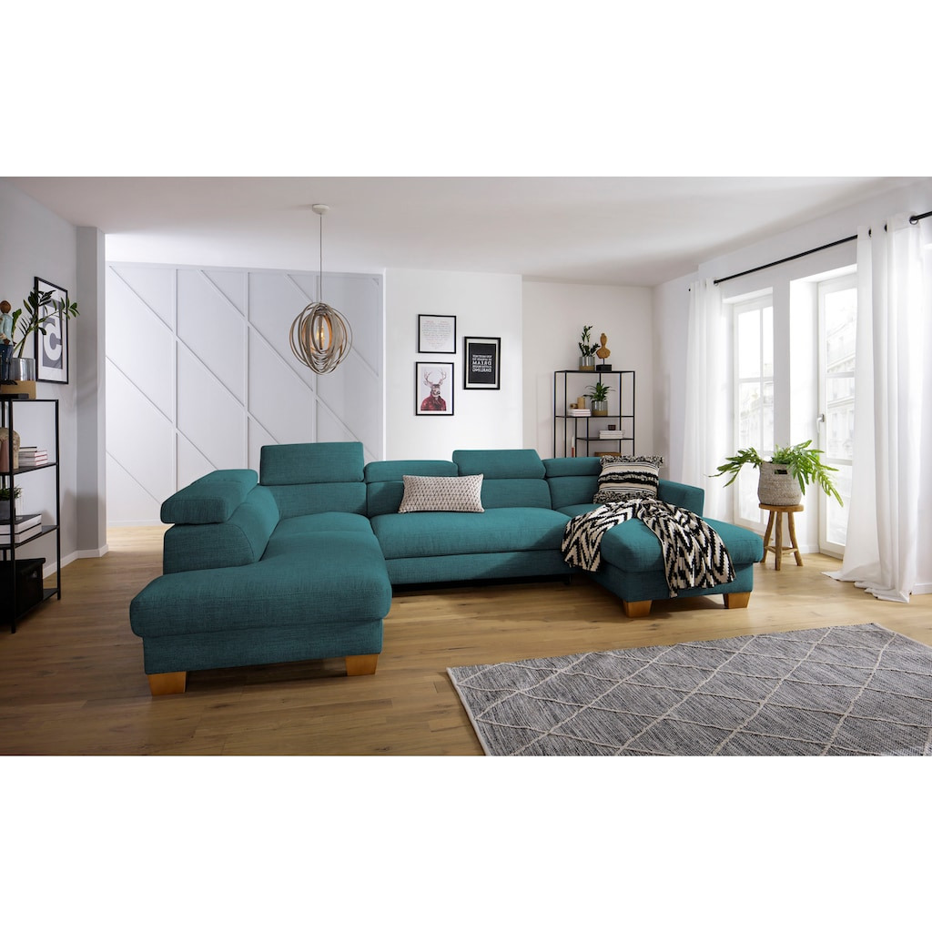 Home affaire Wohnlandschaft »Steve Premium«