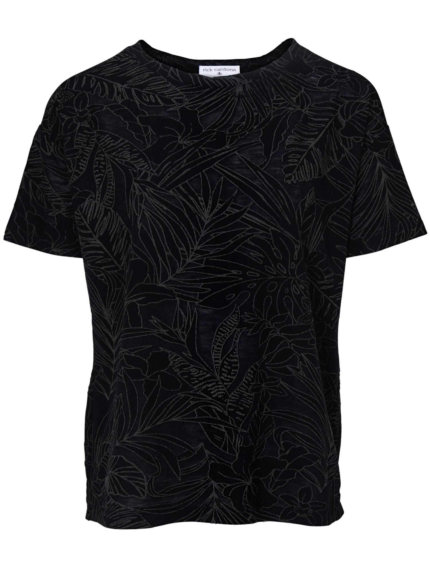 Heine Style T-shirt Mit Gummiertem Druck Ecru