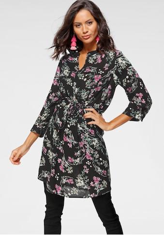 Laura Scott Hemdblusenkleid, mit Bindeband kaufen