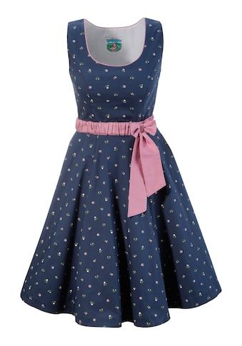 Turi Landhaus Trachtenkleid mit modischem Blumenprint kaufen