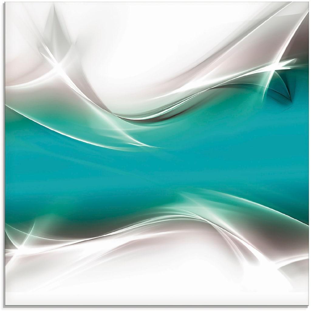 Artland Glasbild »Kreatives Element«, Gegenstandslos, (1 St.)