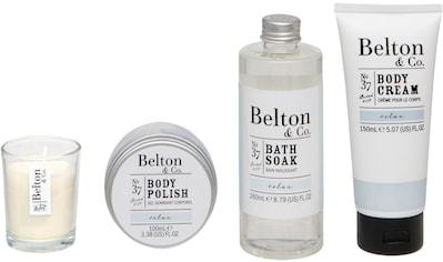 Hautpflege-Set »Belton & Co - Relax Bath & Body Set«, (4 tlg.) kaufen