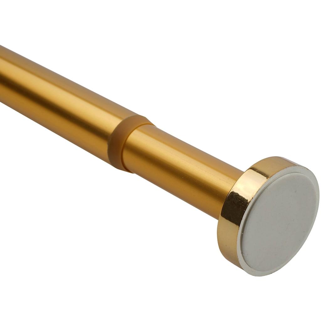 Sanilo Klemmstange »Gold«, ausziehbar, für Duschvorhänge, Duschvorhangstange Gold 90-160cm