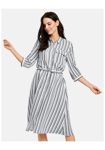 Taifun Kleid Langarm kurz »Hemdblusenkleid im Streifen - Design« kaufen