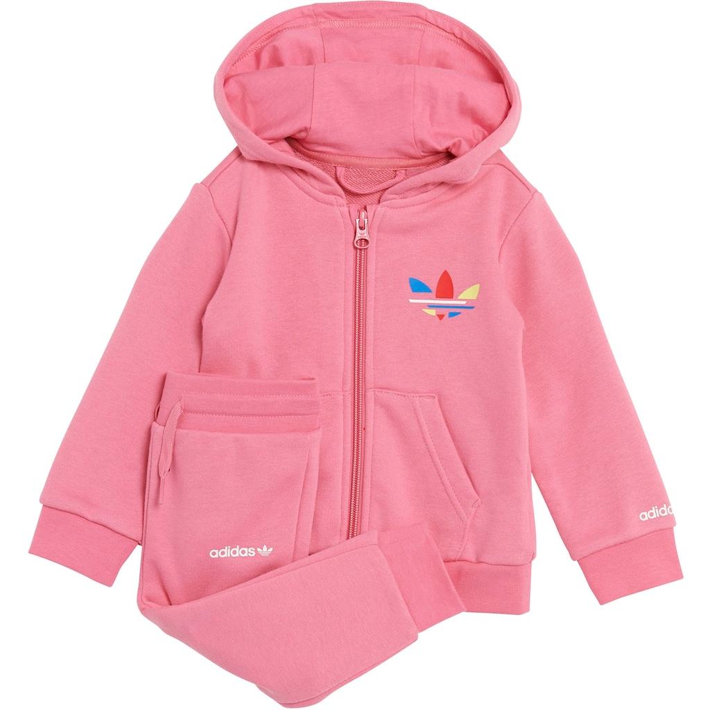 adidas Originals Trainingsanzug »SET FULL ZIP ADICOLOR ORIGINALS INFANT REGULAR UNISEX«