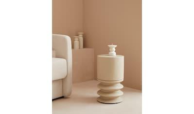 LeGer Home by Lena Gercke Beistelltisch »Aleya«, in Betonoptik, moderne Form kaufen