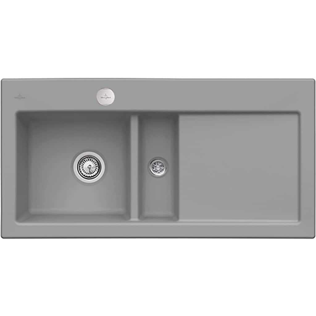 Villeroy & Boch Küchenspüle »Subway 60«, inkl. Ablaufgarnitur mit Excenterbetätigung, 1000 x 510 mm