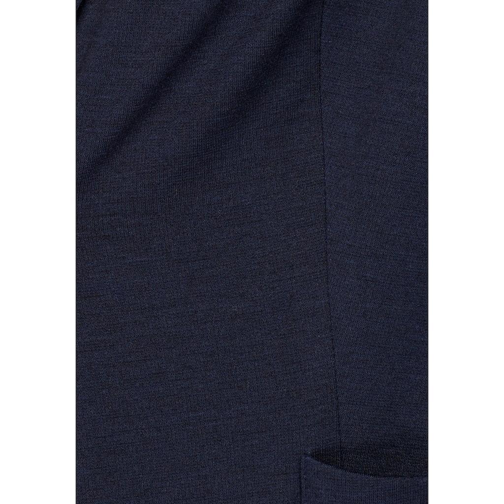 AJC Kurzblazer, mit gestreiftem Kragen und Ärmelbund
