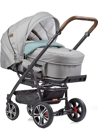 Gesslein Kombi-Kinderwagen »F4 Air+, schwarz/tabak mit Tragetasche C2 Compact,... kaufen