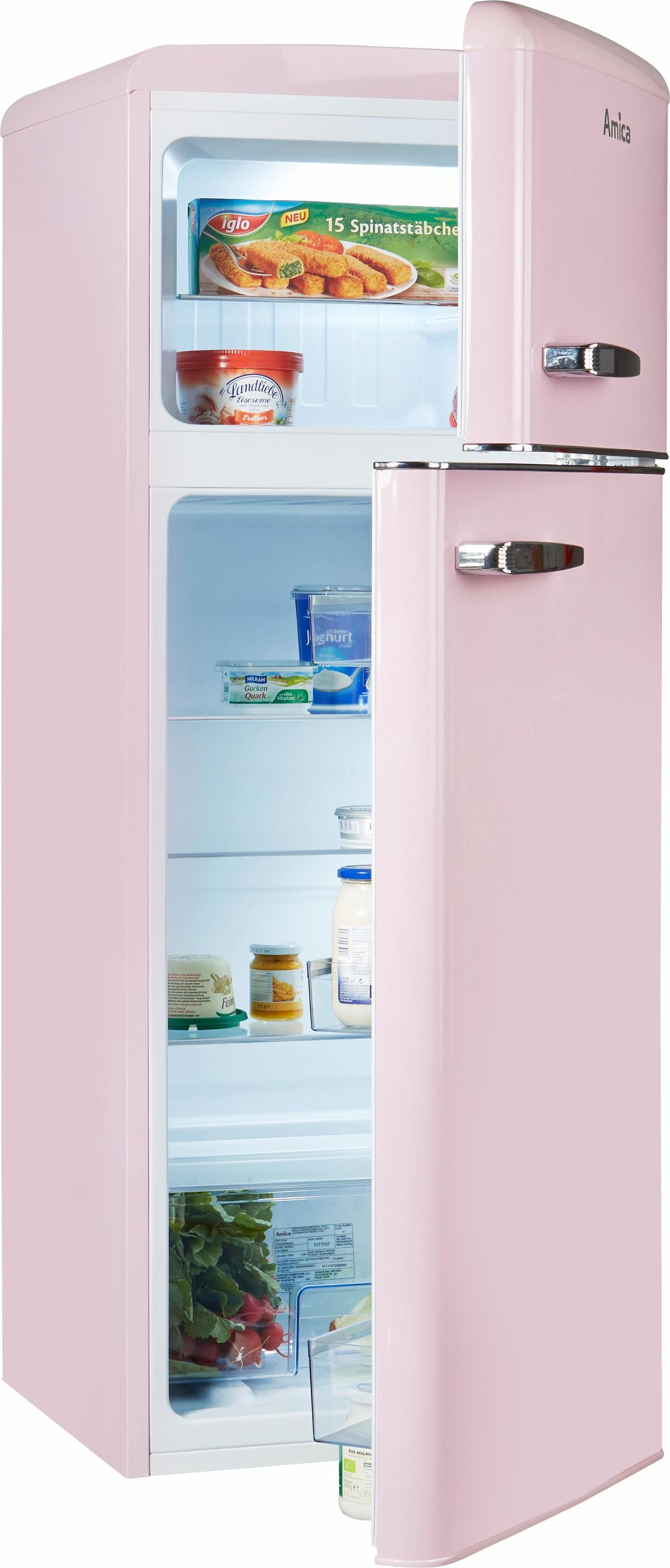 Retro Kühlschrank Amica : Retro kühlschränke auf rechnung raten kaufen baur