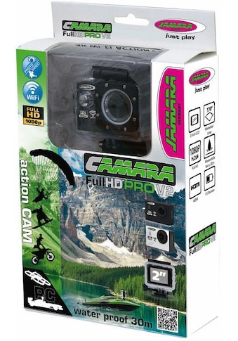 Jamara »Camera Full HD Wifi V2, schwarz« Action Cam kaufen