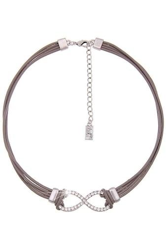 leslii Halskette mit funkelndem Unendlichkeits-Symbol kaufen