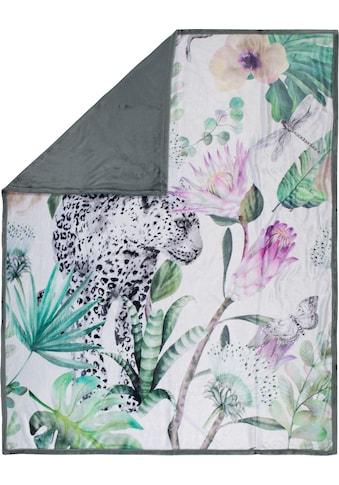 Happiness Plaid »Volterra«, mit Leopard kaufen
