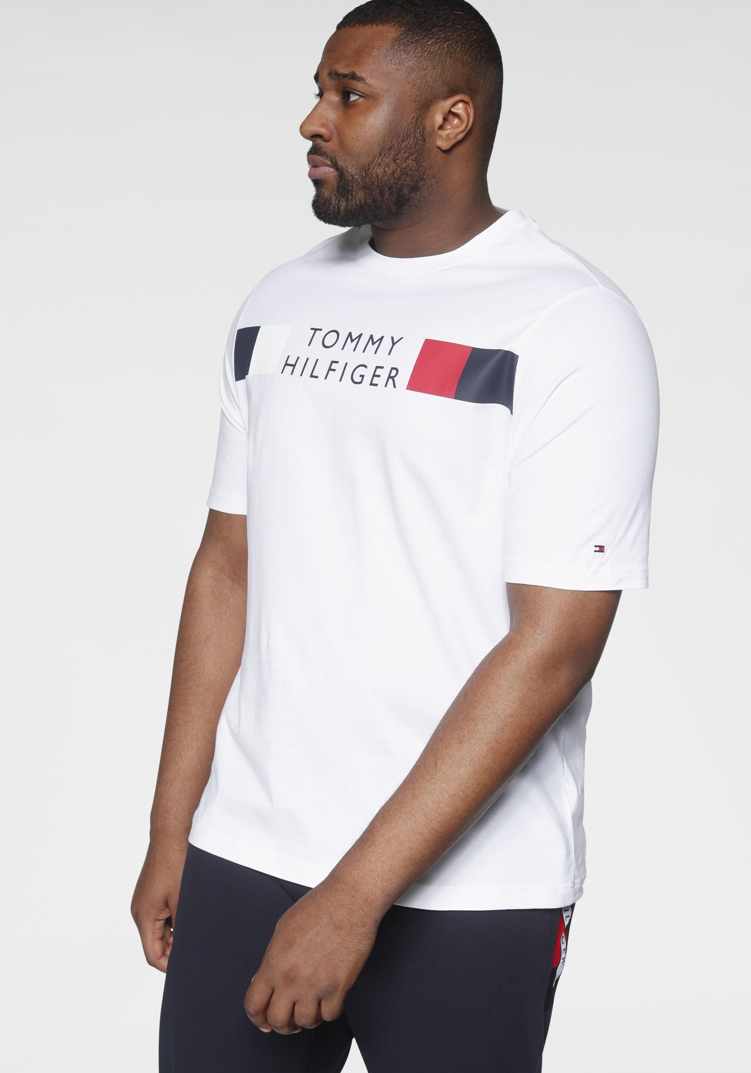 tommy hilfiger big & tall -  T-Shirt BIG & TALL RWB STRIPE TEE