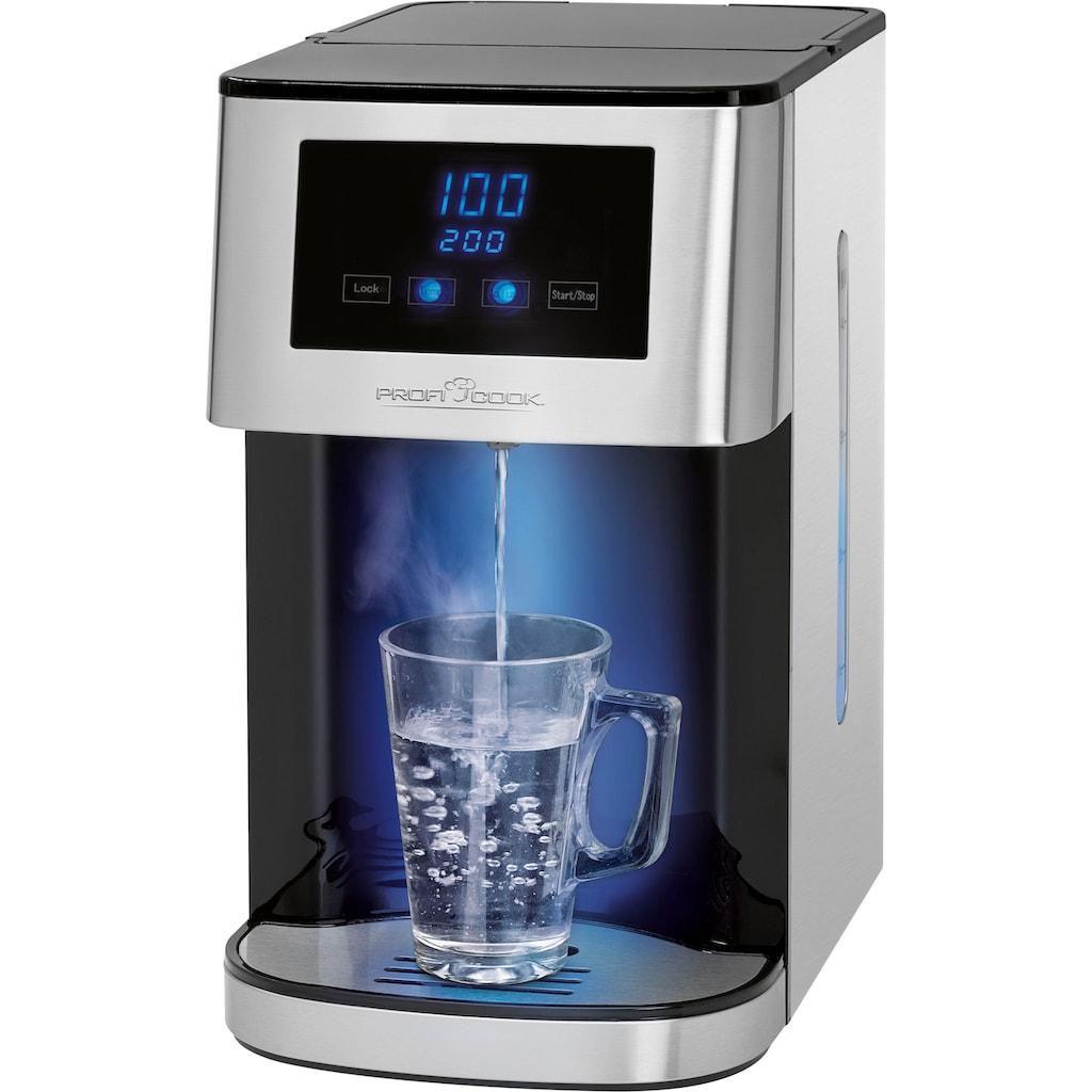 ProfiCook Wasserkocher »PC-HWS 1145«, 4 l, 2600 W