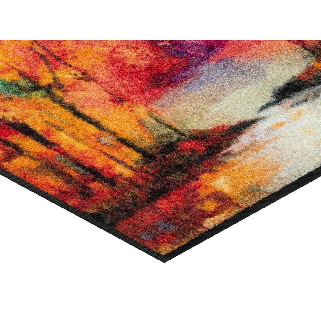 wash+dry by Kleen-Tex Fußmatte »Mystic River«, rechteckig, 7 mm Höhe, Schmutzfangmatte, In- und Outdoor geeignet, waschbar