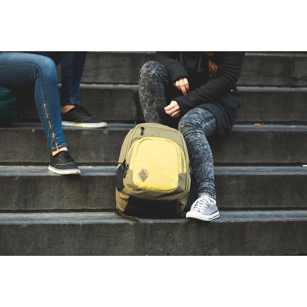 NITRO Schulrucksack »Stash 29, Golden Mud«