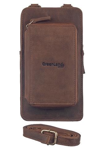 GreenLand Nature Mini Bag »Montenegro«, mit aufgesetzter Börse kaufen