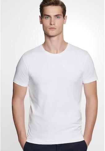 seidensticker T-Shirt »Schwarze Rose«, Kurzarm Rundhals Uni kaufen