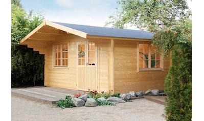 WOLFF FINNHAUS Gartenhaus »Kim 44 - A«, BxT: 528x530 cm, inkl. Fußboden kaufen