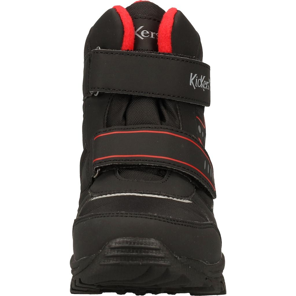 Kickers Schnürstiefelette »Lederimitat/Textil«