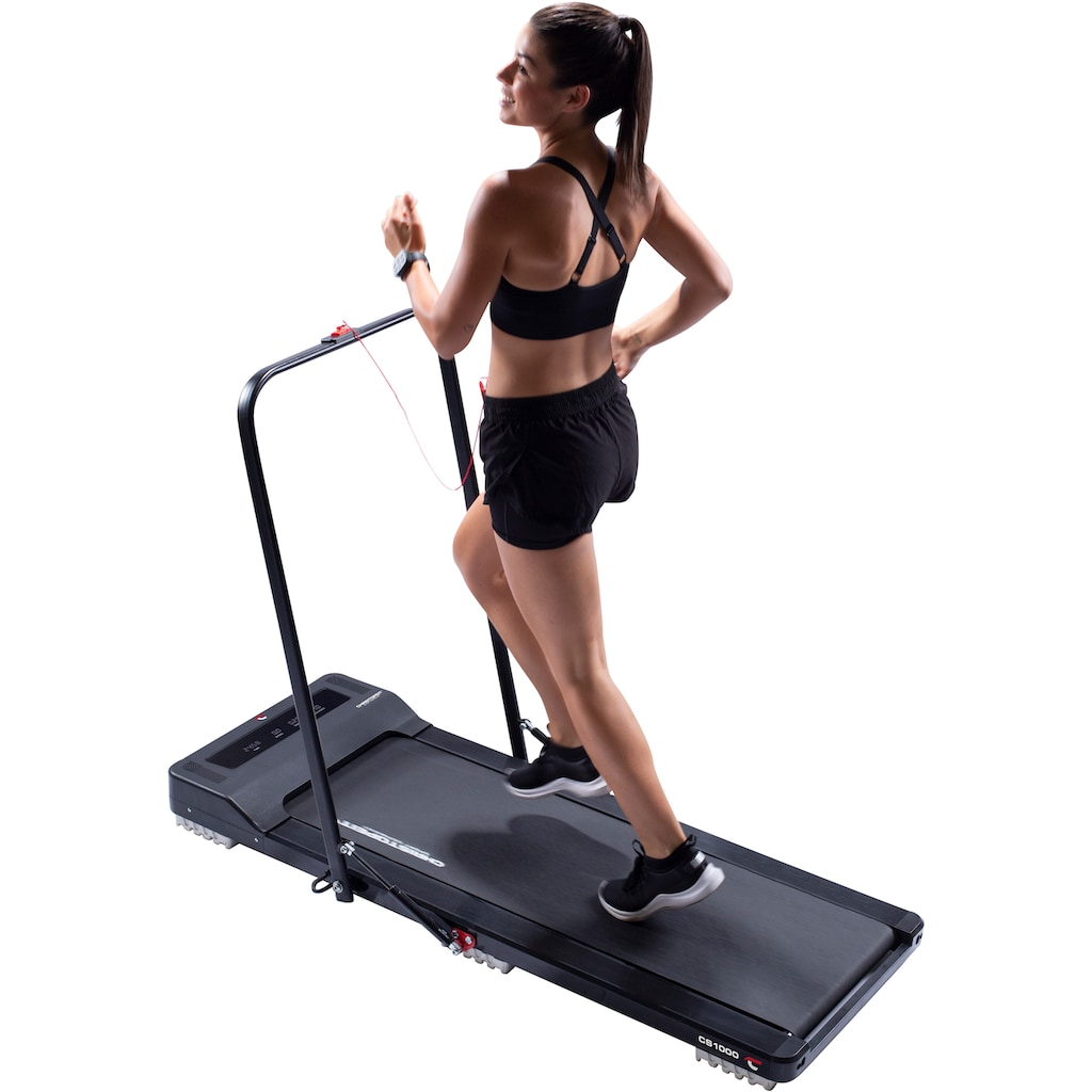 Christopeit Sport® Laufband »Laufband CS 1000«, ultraflach, nach dem Training leicht verstaubar