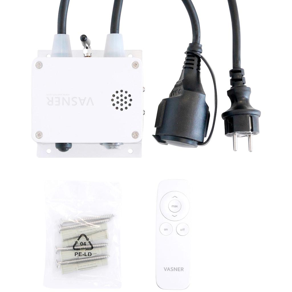 Bluetooth®-Sender für Heizstrahler, Fernbedienung + App, stufenlose Dimmung