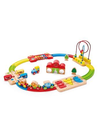 Hape Spielzeug-Eisenbahn »Regenbogen-Puzzle Eisenbahnset«, aus Holz kaufen