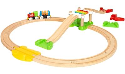 BRIO® Spielzeug-Eisenbahn »BRIO® WORLD Mein erstes Bahn Spiel Set«, Made in Europe,... kaufen