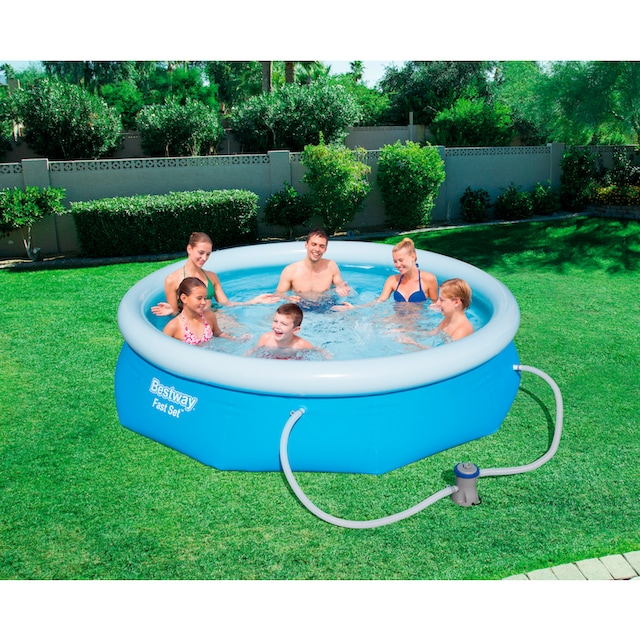 BESTWAY Set: Quick-Up Pool »Fast Set™«, mit Filterpumpe, ØxH: 305x76 cm
