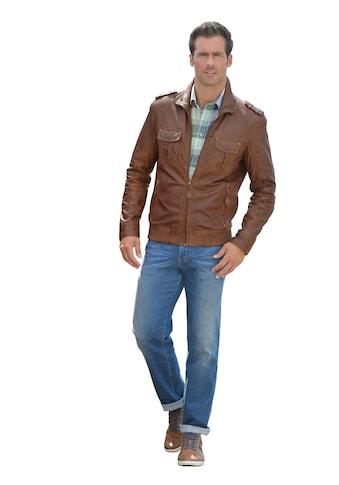 Classic Leder - Jacke mit Umlegekragen kaufen
