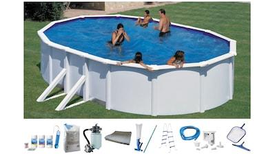 MyPool Ovalpool, (Set), 10-tlg., mit breitem Handlauf, in versch. Größen kaufen