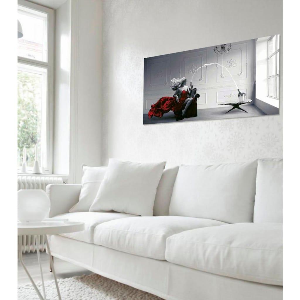 my home Deco-Panel »JULIAN LAUREN / Champagne Zoom«, 100/50 cm
