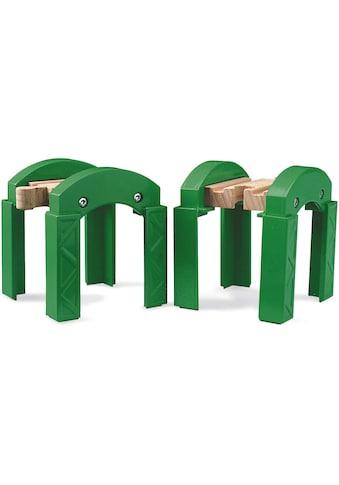 BRIO® Spielzeugeisenbahn-Brücke »BRIO® WORLD Stapelbares Brückensystem«, FSC®-Holz aus... kaufen