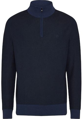 Calvin Klein Troyer »TWO TONE MICRO STITCH HALF ZIP« kaufen