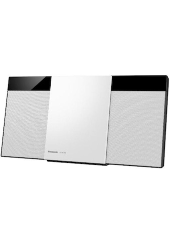 Panasonic »SC - HC304EG - K« Microanlage (Digitalradio (DAB+),FM - Tuner mit RDS, 20 Watt) kaufen