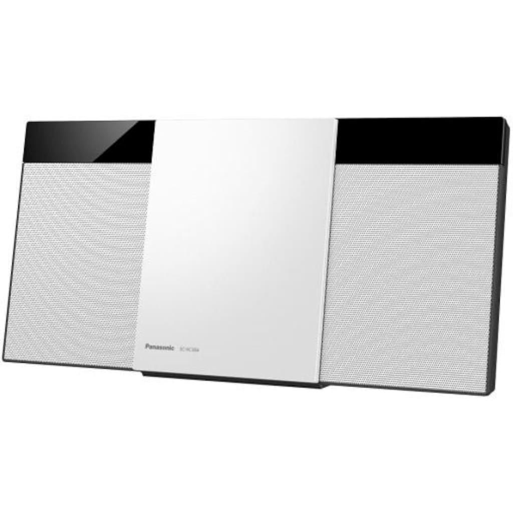 Panasonic Microanlage »SC-HC304EG-K«, (Bluetooth Digitalradio (DAB+)-FM-Tuner mit RDS 20 W)