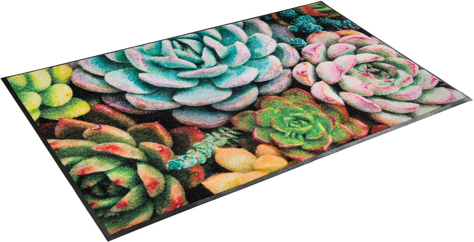 Teppich Edge of Night wash+dry by Kleen-Tex rechteckig Höhe 7 mm gedruckt