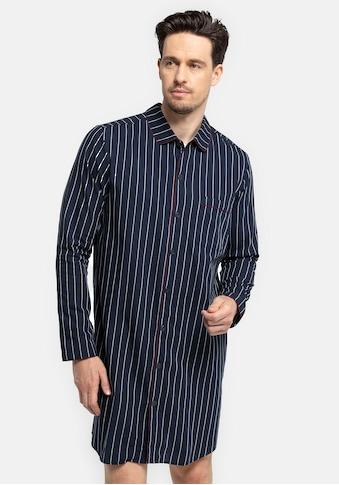 seidensticker Nachthemd »für den Herren aus Webware«, mit Knöpfen kaufen