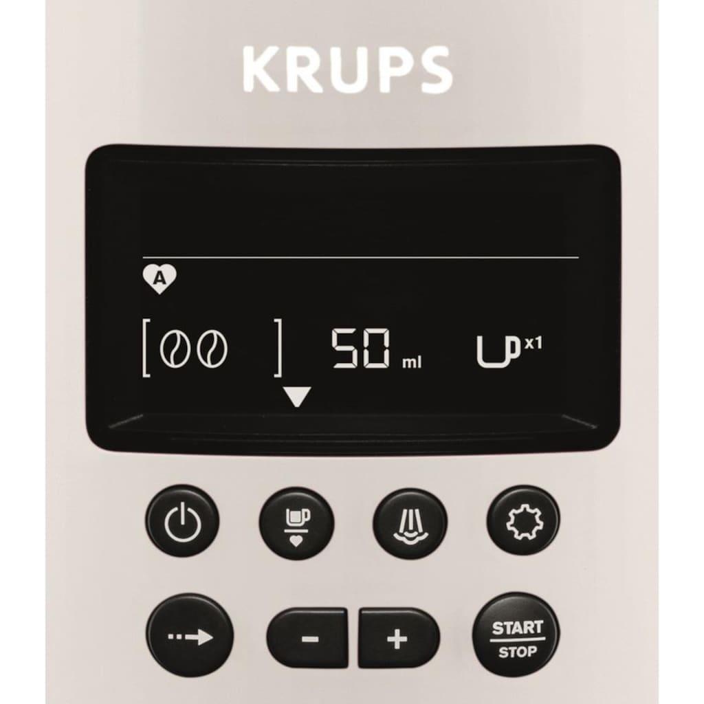 Krups Kaffeevollautomat »EA8161«, inkl. Edelstahl-Milchbehälter
