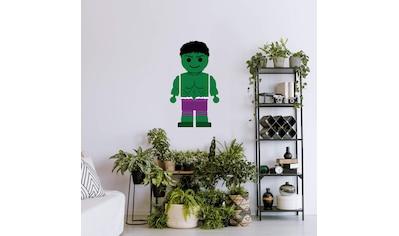 Wall-Art Wandtattoo »Spielfigur The Hulk - Marvel« kaufen