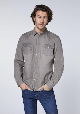 Oklahoma Jeans Jeanshemd »im klassischem Design« kaufen