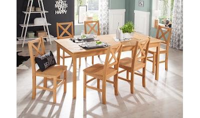 Home affaire Essgruppe »Marta« (Set, 7 - tlg) kaufen