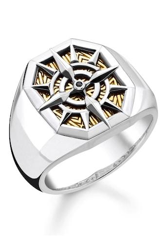 THOMAS SABO Fingerring »Kompass Gold, TR2278-849-7-52, 54, 56, 58, 60, 62, 64, 66,... kaufen