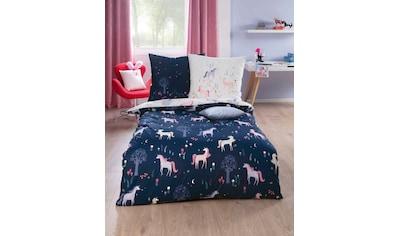 Kaeppel Kinderbettwäsche »Zauberwald«, mit Einhörnern kaufen
