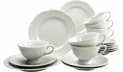 CreaTable Kaffeeservice »Maria Theresia«, (Set, 18 tlg.), Mikrowellengeeignet kaufen